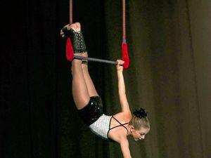 Young aerial artist leaps toward circus dream