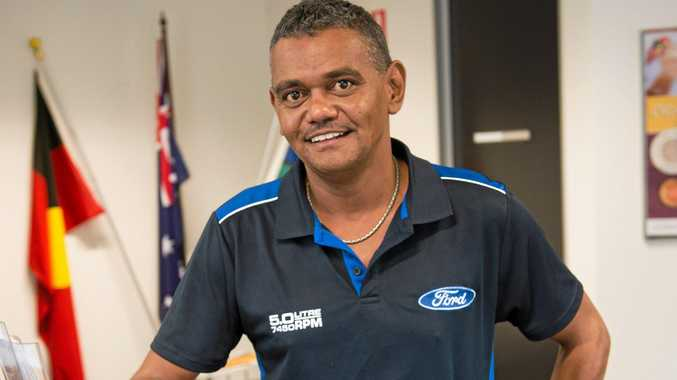DEVELOPMENT: Community Champion, Reuben Robinson has worked for more than a decade in Aboriginal affairs.