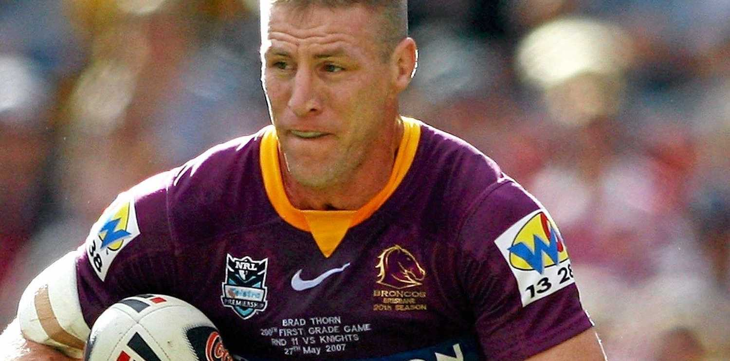 FLASHBACK: Brad Thorn in action for the Broncos in 2007.