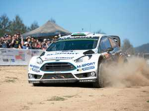 Elfyn Evans had his last  Kennards Hire Rally Australia drive on the Coffs Coast back in 2015.