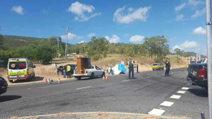 10AM: Emergency services respond to a serious crash on the Rockhampton-Yeppoon Rd that reportedly involved high speed.