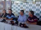 Ian Healy and Mark Waugh talk about the Bulls Masters game