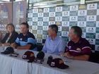 VIDEO: Cricketers Ian Healy and Mark Waugh talk about Mackay