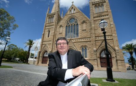 Michael McCarthy will shortly be ordained as the new Bishop of Rockhampton. Photo: Chris Ison / The Morning Bulletin