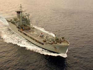 We want the HMAS off the Fraser Coast shores