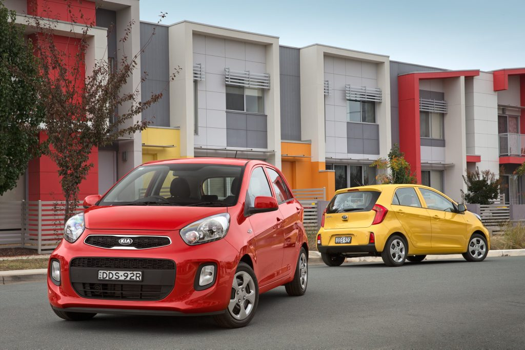 MICRO CHOICE: Auto gearbox, seven-year warranty and five-star safety for Kia's $15,000 drive away micro Picanto. Could young buyers ask for anything more?
