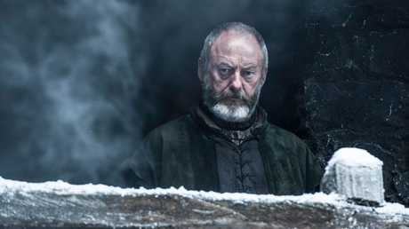 Liam Cunningham in a scene from season six of Game of Thrones.