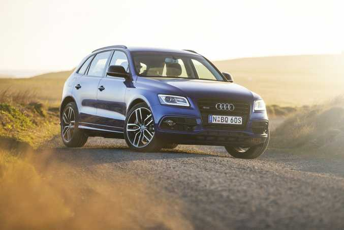 PLUS POINTS: Stealthier, more powerful, trick differential and added goodies, the Plus version of Audi's SQ5 SUV is the more exclusive choice.