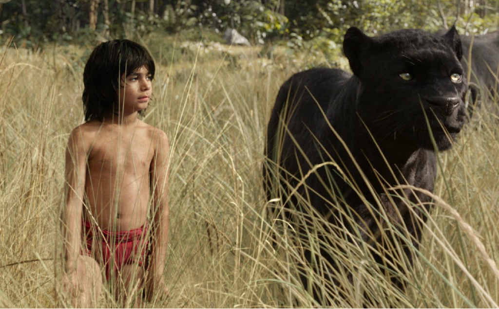 CLASSIC TALE: Mowgli and Bagheera embark on a captivating journey in The Jungle Book.