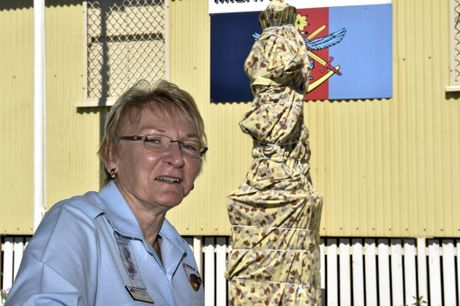 TO HONOUR: Milne Bay Military Museum president Marian Jones hopes to see strong community support at tomorrow's unveiling of a new memorial.