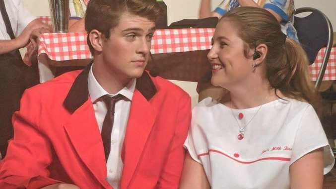 Connor Willmore and Rani Koolloos are two of the peformers in the Clarence Coast Theatrical Society's Jukebox the musical which kicks off in Maclean this weekend.