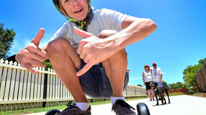 Fair Trading NSW is reminding people about a ban on hoverboards due to a risk of them catching fire. Photo: John McCutcheon / Sunshine Coast Daily