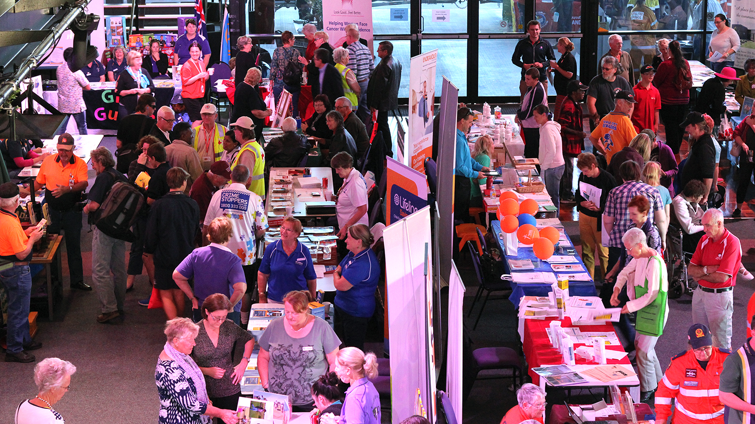 Crowds flock to last year's Fraser Coast Council Volunteers Expo