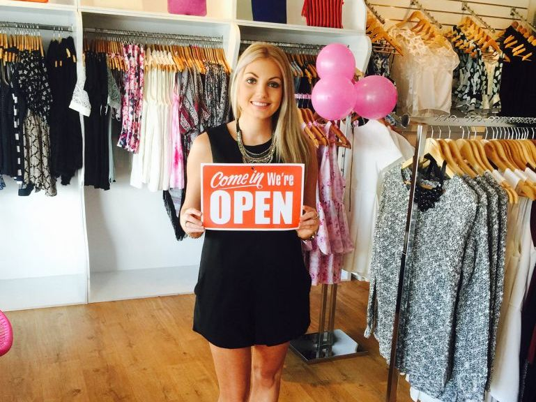 After getting quotes from shopfronts in East St and weighing up the costs of the monthly rent bill, the young business owner, Emily Dowling, had to think of other locations to home her business.