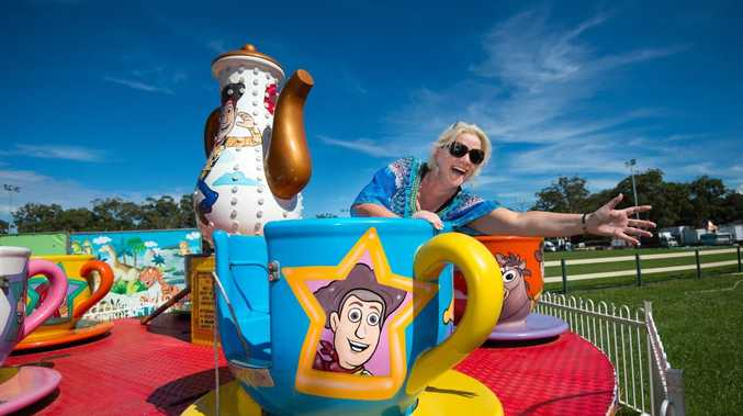 IN A SPIN: Coffs Harbour Agricultural Show vice-president Karen Luke. Photo: Trevor Veale