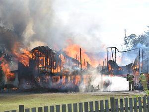 House fire at Fairymead