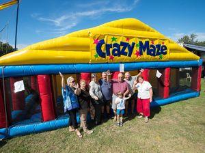 Go inside the crazy maze at the Coffs Harbour Show