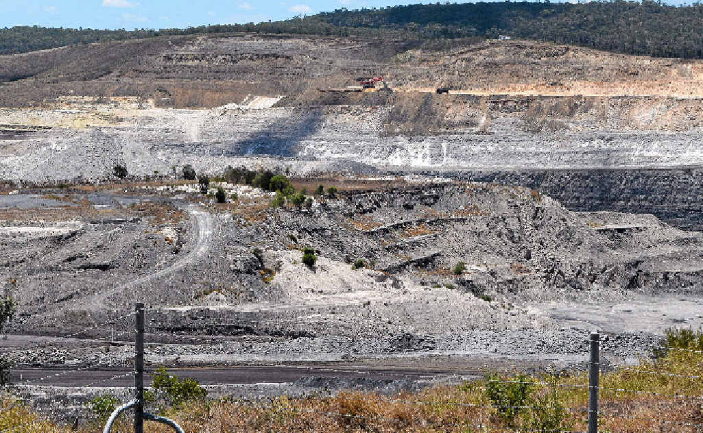 DIGGING IN: A photo of the Callide Mine. When fully developed, the Carmichael Mine will be the largest coal mine in Queensland with a life expectancy of 90 years.