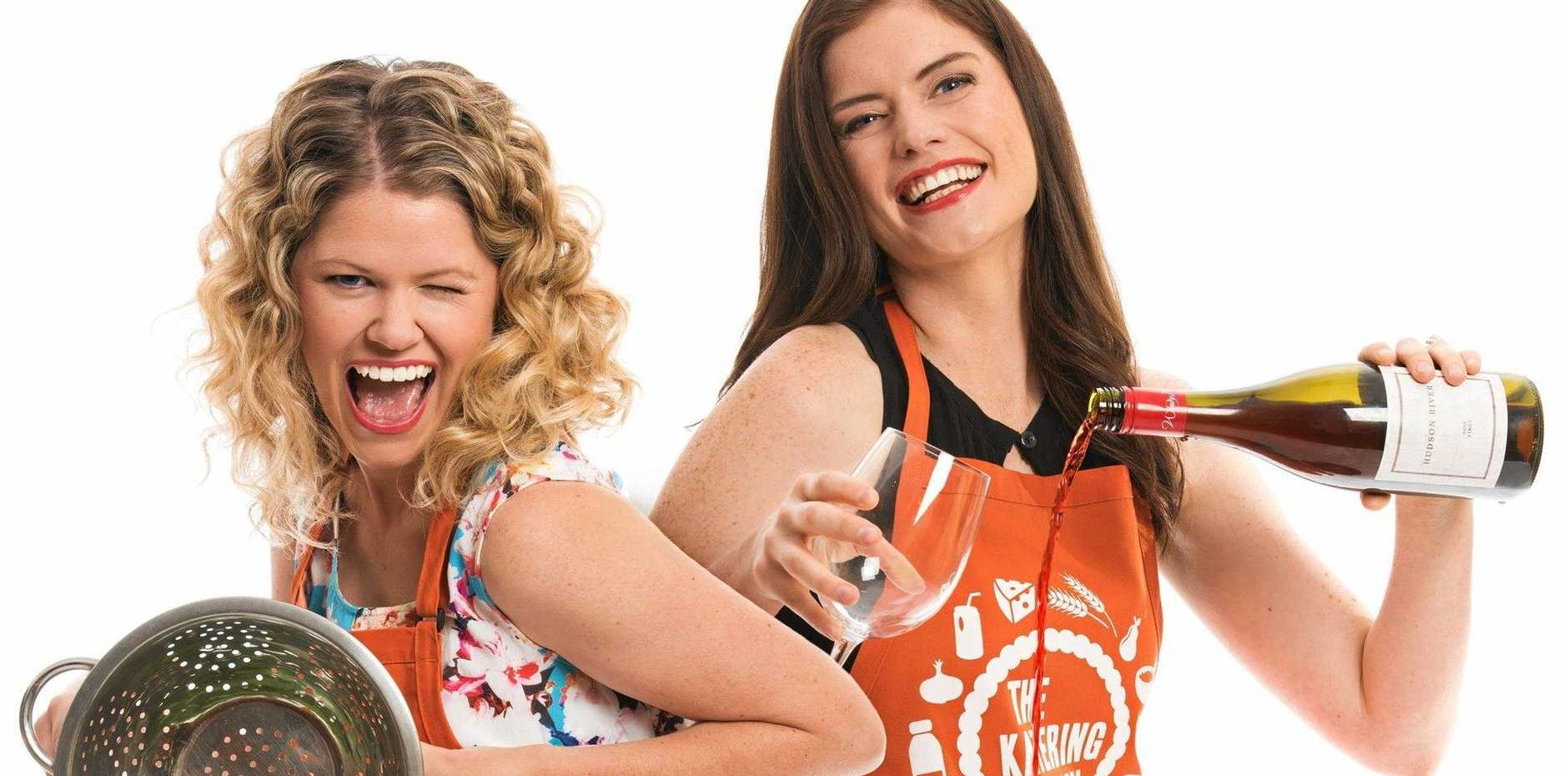 Kate McLennan and Kate McCartney star in the TV series The Katering Show.