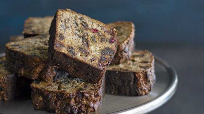 My Kitchen Rules stars Dan and Steph's banana, coconut and carrot gluten free loaf .