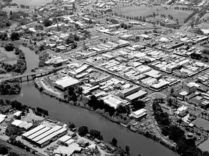 From the archive: Bird's eye view of Lismore