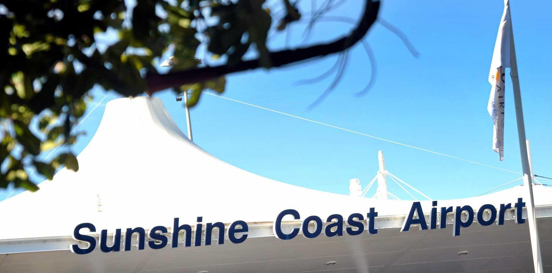 GOING UP: Sunshine Coast Airport