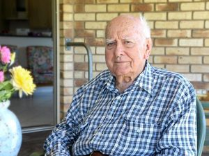 Toowoomba veteran still going strong at 95