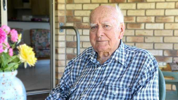 REMEMBERING THE ANZACS: Highfield's Dr Bob Goodwin is an unsung hero of the second World War.