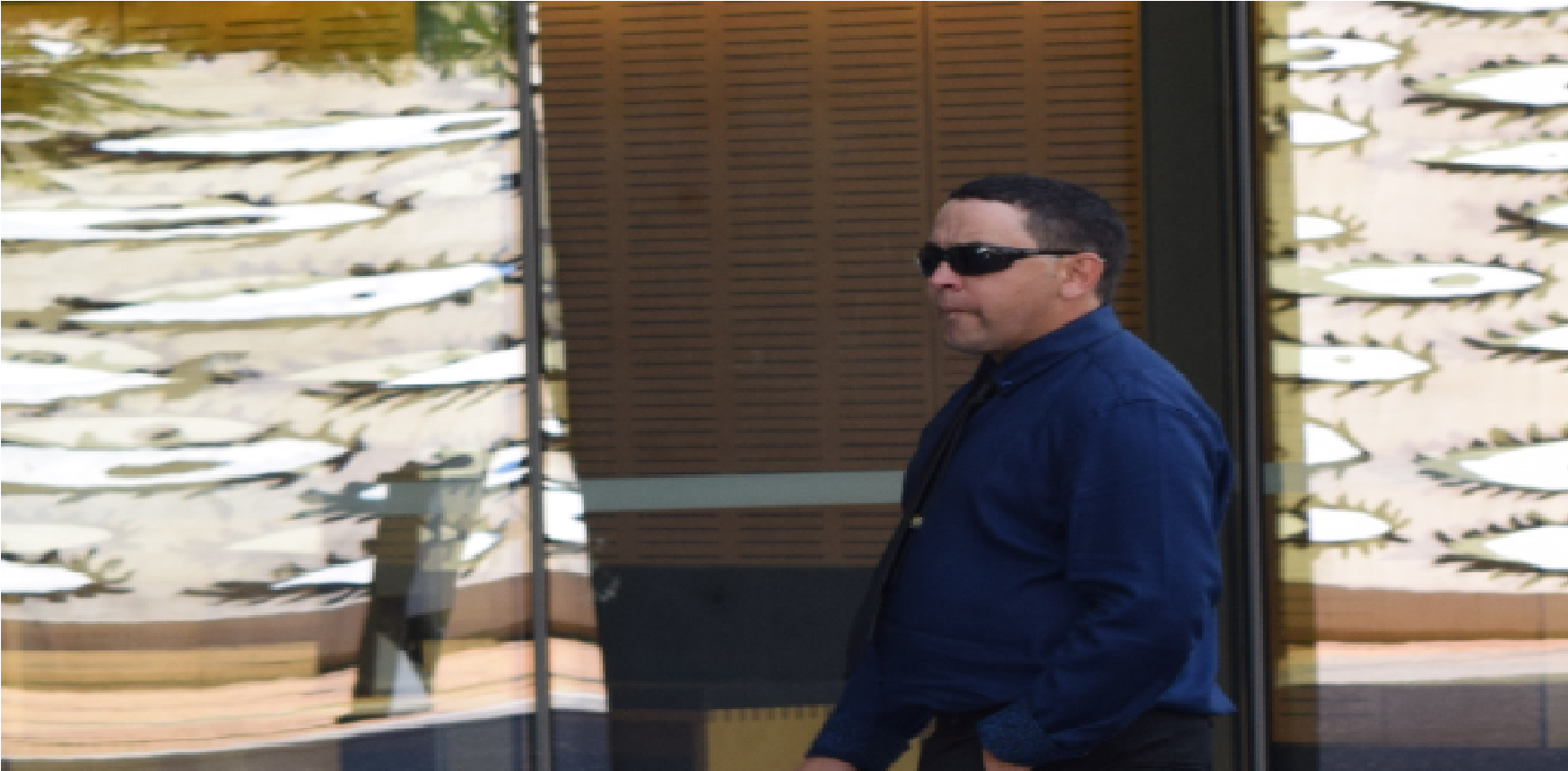 Court Image: Roma man, Troy Angus Kearns, 32. Stands accused of stabbing his brother.