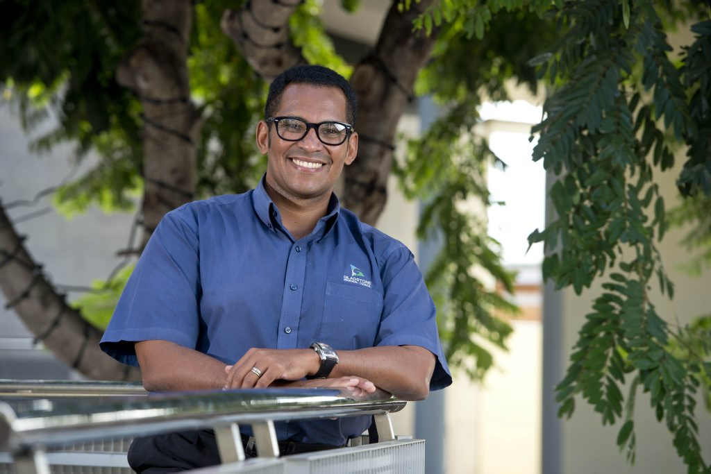 POPPING UP: Luis Arroyo has big plans to get entrepreneurs from Gladstone the chance to run their own business. Photo Paul Braven / The Observer