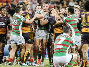 Social media blisters Sam Burgess over tackle