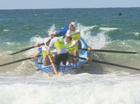 Maroochydore U/19 boat crew.