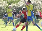Whitsunday FC take on West United at the Whitsunday Sportspark.Photo Peter Carruthers / Whitsunday Times