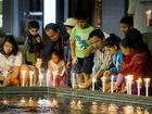 Residents pause to remember Nepal earthquake victims