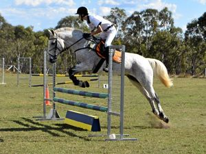 Warwick riders put through paces at eventing weekend