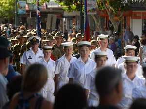 ANZAC Day parade - 25 April 2016