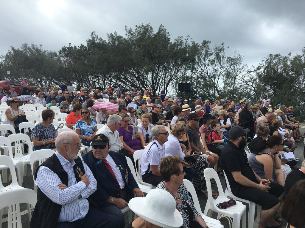 My husband and I met our family at Kawana Surf Club for the dawn service, followed by a lovely breakfast.