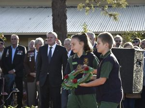 ANZAC service at Drayton