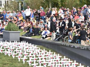MAIN PARADE: Third generation veteran shares war insight