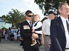 Hundreds of people hit the streets for the Anzac march and ceremony on Bribie Island. Did we spot you there?