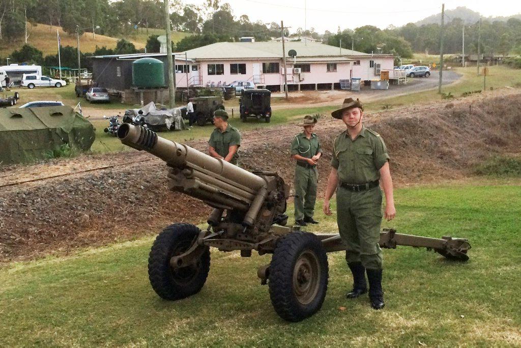 WATCH: Historic cannon fire at Kandanga dawn service | Gympie Times