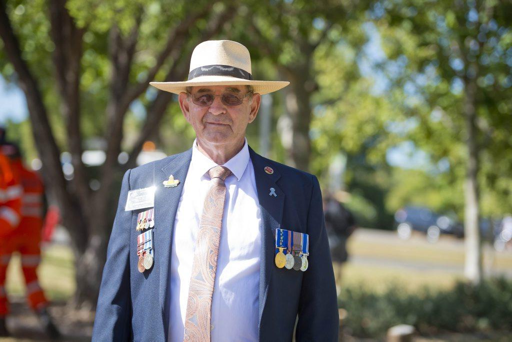 Darryl Saw, Calliope Anzac Day Service, April 25, 2016