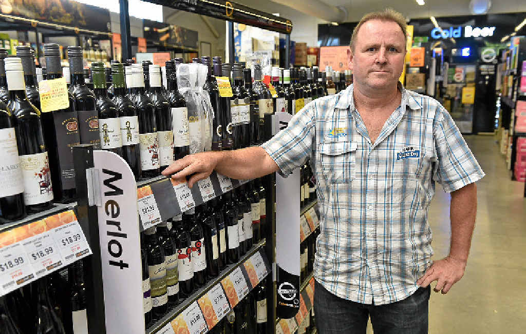 DOLLAR VALUE: Torquay Hotel general manager Darren Carter says sporting events bring dollars to the bar.