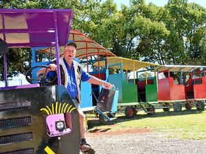 Gary's passion project is on track for the Kingaroy Show