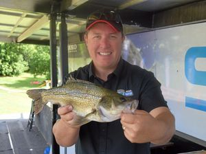 Bass fishermen ready to Rumble on Wilsons River