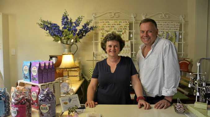 GIFTS GALORE: Belinda and Simon Eldridge own new gift shop Belle Fleur at 21 Bowen St.