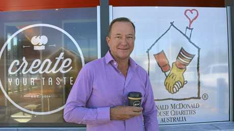 Toowoomba man Mark Ward opened the city's eighth McDonalds restaurant in December last year.