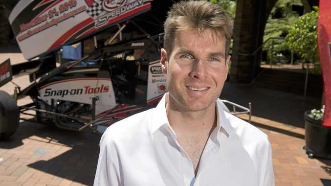 COMPETITIVE: Toowoomba's IndyCar driver Will Power.