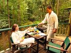 TOP CLASS: Guests enjoy the scenery at Narrows Escape Rainforest Retreat at Montville.