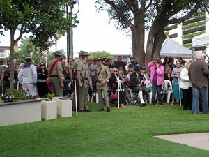 Cotton Tree Anzac Day Main Service in pictures
